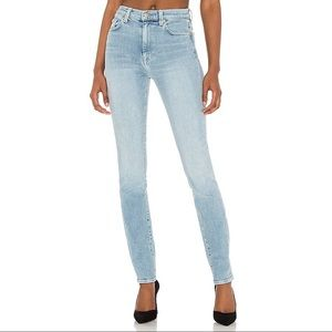7 For All Mankind-High Waist Ankle Skinny Jeans